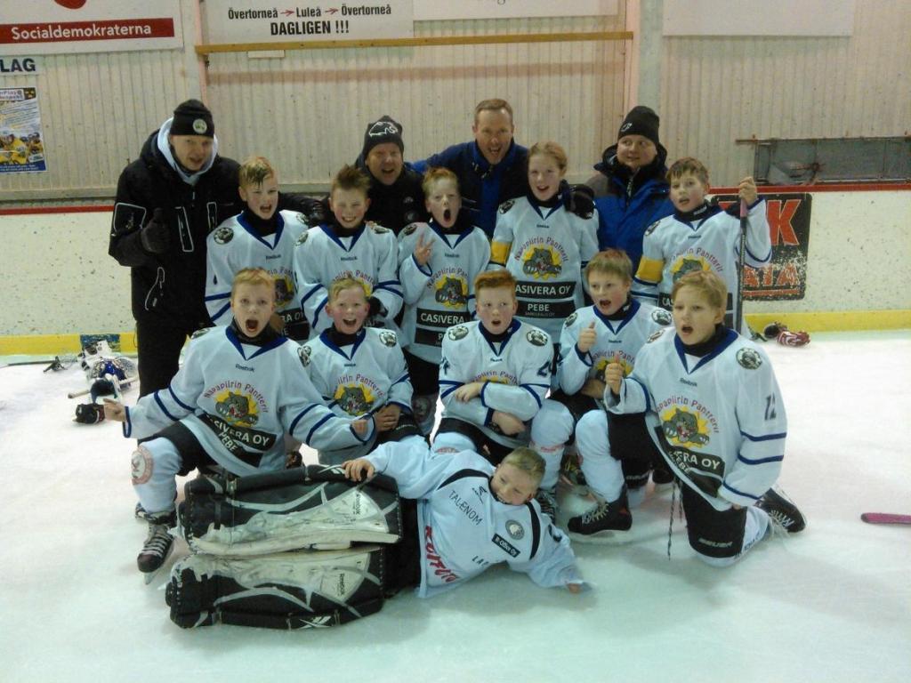 Pantterit E2 ICA CUP voitto 2014